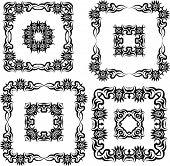 picture of henna tattoo  - Tribal Tattoo Design Vector Art - JPG