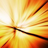 picture of divergent  - abstract colored background divergent rays orange yellow - JPG