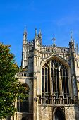 stock photo of church-of-england  - Cathedral church of St Peter and the Holy and Indivisible Trinity Gloucester Gloucestershire England UK Western Europe - JPG
