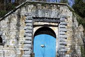 picture of xx  - military door of a fortification of the past century - JPG