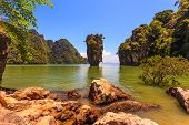 foto of james bond island  - Whimsical island in the Andaman Sea - JPG