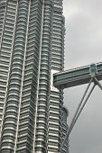 picture of klcc  - part of the klcc building  - JPG