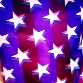 stock photo of veterans  - Instagram filtered image of American Flag for 4th of july - JPG