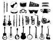pic of musical instruments  - Musical Instrument - JPG