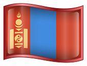 picture of ulaanbaatar  - Mongolia Flag icon - JPG