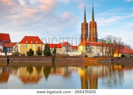 View Of Oder River And