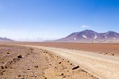 Bolivian Dirt Road View,bolivia poster