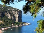 the home of a village on the coast of Sorrento
