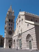 picture of messina  - the cathedral of Messina built by the norman king Ruggero II dates back to 1120 - JPG