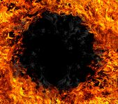 Fire black hole