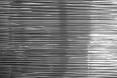 Abstract Of Black Plastic Wrap Texture For Background Used poster