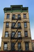 Old new York CIty tenement architecture