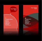 rot Thema Business card