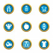 Excellent Form Icons Set. Flat Set Of 9 Excellent Form Icons For Web Isolated On White Background poster