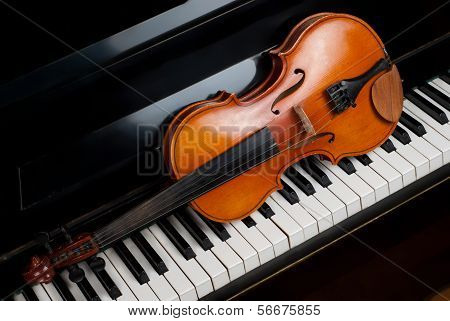 Violin And Piano poster