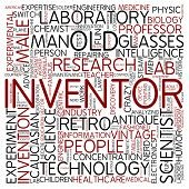 Word cloud - inventor
