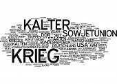 stock photo of cold-war  - Word cloud  - JPG