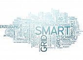 picture of smart grid  - Word cloud  - JPG