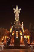 pic of patron  - Monument of holy GreatMartyress Catherine in Krasnodar, Russia. Authors is Darya Uspenskaya and Vitaliy Shanov. Holy GreatMartyress Catherine is patron of Krasnodar city. ** Note: Soft Focus at 100%, best at smaller sizes - JPG
