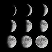 stock photo of lunar eclipse  - Time - JPG
