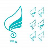 Постер, плакат: Wings Icon