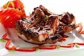 picture of baby back ribs  - Hot Meat Dishes  - JPG