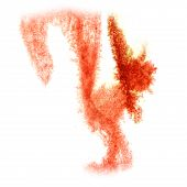 picture of insults  - Abstract  red watercolor  background for your design insult art - JPG