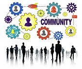 foto of population  - Community Culture Society Population Team Tradition Union Concept - JPG