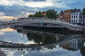 picture of ireland  - Evening view of famous Ha - JPG