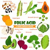 picture of pea  - Vitamins and Minerals foods Illustrator set 14 - JPG