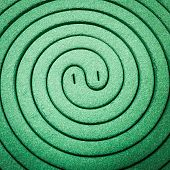 foto of mosquito repellent  - Close up mosquito repellent coils are stacked - JPG