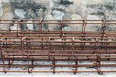 Steel Bar, Rebar For Construction,rust On Steel Wire, Steel Bar Rust, Wire Steel, Rebar Rust poster
