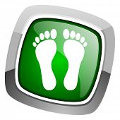 footprint icon