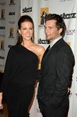 Kate Beckinsale and Len Wiseman  at the 13th Annual Hollywood Awards Gala. Beverly Hills Hotel, Beve