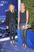 Sheryl Crow and Gabrielle Reece at the Jimmy Choo For H&M Collection, Private Location, Los Angeles,