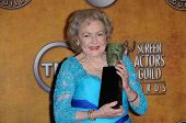 Betty White at the 16th Annual Screen Actors Guild Awards Press Room, Shrine Auditorium, Los Angeles