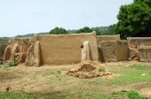 African mud dwellings