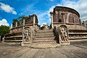 pic of polonnaruwa  - Historical Polonnaruwa capital city ruins in Srilanka - JPG