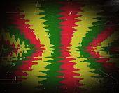 picture of rastafari  - Red yellow green rasta flag for background - JPG