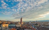 stock photo of torino  - Turin (Torino) panorama from the bell tower ** Note: Visible grain at 100%, best at smaller sizes - JPG