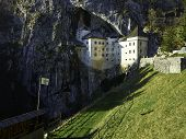 foto of offensive  - Predjama castle - JPG
