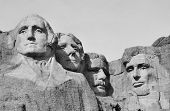 pic of mount rushmore national memorial  - Views of Mt Rushmore located in the Black Hills of South Dakota - JPG