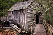 image of cade  - An image of an old mill in Cades Cove - JPG