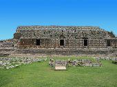 image of yucatan  - Kabah ruins at yucatan peninsula - JPG