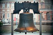 picture of city hall  - Liberty Bell and Independence Hall in Philadelphia - JPG