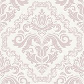 stock photo of damask  - Oriental vector pattern with damask - JPG