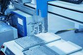 foto of welding  - Robot Welding - JPG