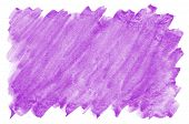 Abstract Watercolor Background Image Of Mixed Wet Spots Of Purple Color poster