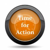 Постер, плакат: Time For Action Icon