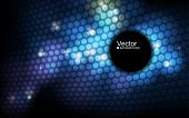 stock photo of spatial  - abstract vector banner - JPG